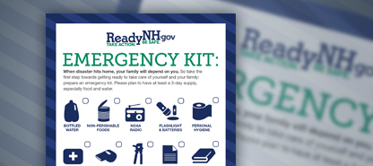 photo of emergency kit checklist